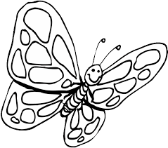 678x600 Butterfly Coloring Pages For Kids