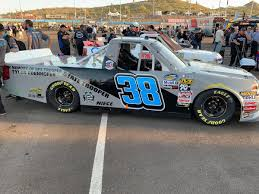 100 Truck Series Landon Huffman From The Is Rocking This Arizona DPS