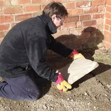 how to lay a garden patio laying a garden patio bradstone