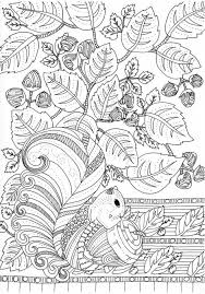 Printable Autumn Coloring Pages For Adults Xc45pl