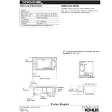 Bathtub Drain Lever Stopper Removal by Designs Charming Bathtub Ideas 125 Left Hand Drain With Bathtub