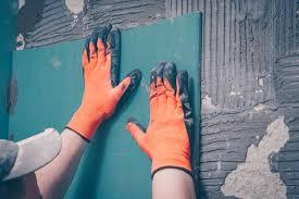 gipskartonplatten kleben so wird s gemacht