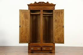 Oak Carved Victorian 1895 Antique Armoire, Wardrobe Or Closet ... 72 Best Antique Armoire Images On Pinterest Armoire 33 Bureau And Cupboards Painted Antique Beside Window With Heavy Cream Curtain In Closet French Wardrobe Storage Fniture Abolishrmcom Vintage Fniture With Mirror Lawrahetcom An Overview Of Elites Home Decor Hutch Ladybirds Mandeville La At Geebo Wardrobe Closet Massachusetts Ideas All Home