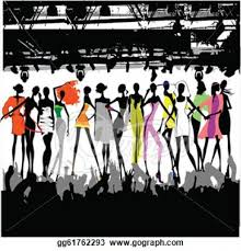 Spring Fashion Show Clip Art