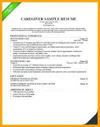Infant Caregiver Resume Sample Template Superb Samples Free Download Objectives