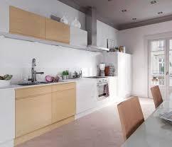 cuisine blanche design emejing deco cuisine blanc et bois photos lalawgroup us