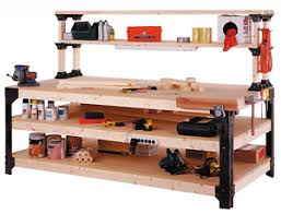 Image Is Loading Workbench Storage Table Shelving Work Bench Tool Garage