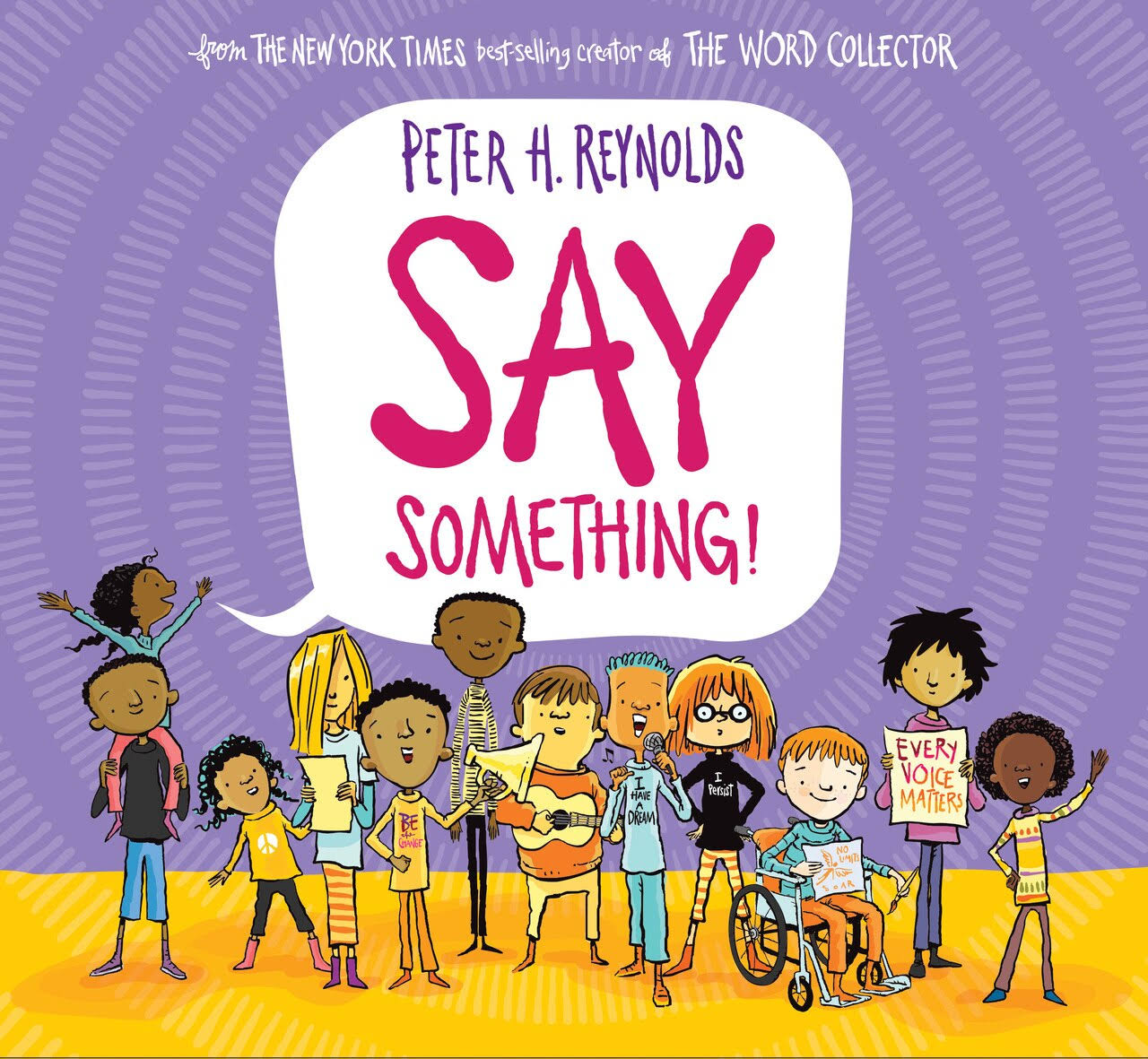 Say Something! - Peter H. Reynolds