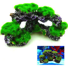 Extra Large Fish Tank Decorations by Realistic Artificial Aquarium Coral Reef Extra Large Polyp Fish