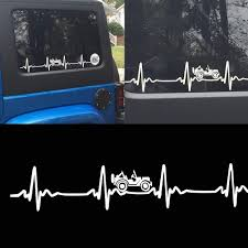 100 Ford Stickers For Trucks Amazoncom JINGB Reflective Heartbeat Car Styling