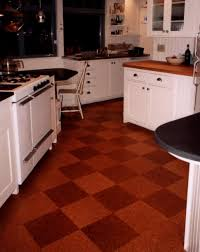 kitchen kitchen cork floor tiles for pros and cons of flooring