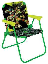 Folding Patio Chairs Amazon by Amazon Com Teenage Mutant Ninja Turtles Patio Chair Toy Toys U0026 Games