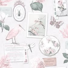 Shabby Chic Wallpaper Floral En Varios Disenos Pared
