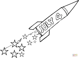 Click The Fourth Of July Coloring Pages To View Printable