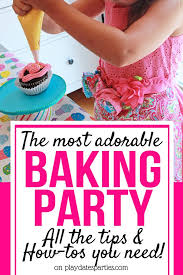 This Is Just The Sweetest Birthday Party Theme For Kids Its A Bake Shop