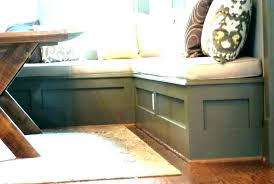 Built In Kitchen Bench Or Seating Dining Table Seat With Back Plans Din