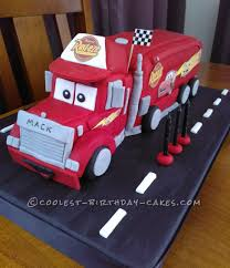 Disneys Mack Truck Cake | Cake Obsession | Pinterest | Truck Cakes ... Creative Cakes Semi Truck Cake School Of Natalie Bulldozer With Kitkats Garbage Cakes Decoration Ideas Little Birthday For Dump Sheet Tutorial My 1st Punkins Shoppe Fire With Monster 9x13 Monster Truck Cake Pinterest Hot Wheels Cakecentralcom Hunters 4th Its Always Someones Blakes 5th Bday Youtube