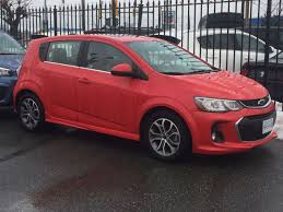 100 Car And Truck 2018 Chevrolet Sonic Canadian And Rental