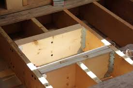 Bathtub Drain Leaking Through Ceiling by Reinforcing Floor Joists A Concord Carpenter