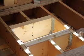 Ceiling Fan Joist Hangers by Reinforcing Floor Joists A Concord Carpenter