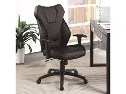 Coaster Office Chairs 802470 Leatherette High Back Office Chair ... Odessa High Back Executive Chair Adjustable Armrests Chrome Base Amazonbasics Black Review Youtube Back Chairleatherette Home Fniture On Carousell Shop Bodybilt 272508 Cosset Highback By Sertapedic Srj48965 Der300t1blk Derby Faux Leather Office 121 Jersey Faced Armchair Cheap Boss Transitional Highback Walmartcom Amazoncom Essentials Fabchair Ayrus With Ribbed Cushion Edge High Meshback Executive Chair With Lumbar Support Ofx Office