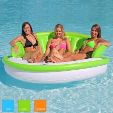 Inflatable Tubes For Toddlers by Designer Series Floating Couch Sportsstuff Sit Back And Relax