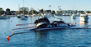 Tug Boat Sinks by William B Sinks After Fire Takes Her U2013 Save Newport