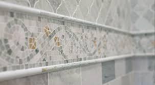 decorative listello tile the tile shop