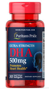 Extra Strength DHA 500 Mg 30 Softgels   DHA Supplements ...