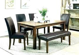 Dinette Sets With Bench Small Dining Set Room