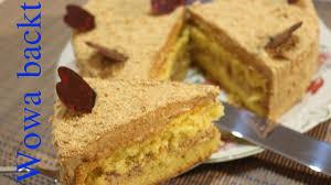 russische kaffee torte in buttercreme