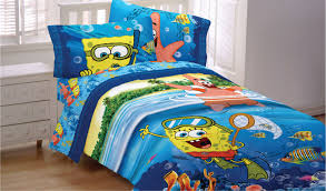 Spongebob Toddler Bedding by Fun Spongebob Bedroom Decor Ideas