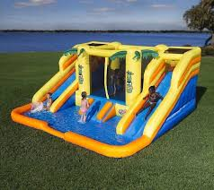 Top 10 Best Water Slides   EBay Water Park Inflatable Games Backyard Slides Toys Outdoor Play Yard Backyard Shark Inflatable Water Slide Swimming Pool Backyards Trendy Slide Pool Kids Fun Splash Bounce Banzai Lazy River Adventure Waterslide Giant Slip N Party Speed Blast Picture On Marvellous Rainforest Rapids House With By Zone Adult Suppliers