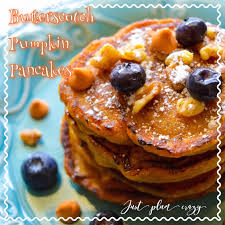 Vegan Bisquick Pumpkin Pancakes by Butterscotch Pumpkin Pancakes Recipe Just Plum Crazy