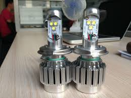 highest lumens 6400lm car cree led h4 high low all in one cree led