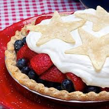 Uncle Sams Fresh Strawberry and Blueberry Pie