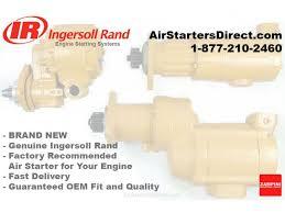 ingersoll rand air starter motor caterpillar 3516 oem air starter replacement upgrade