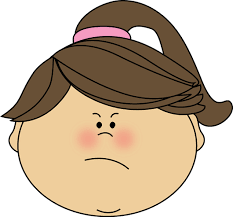 Angry Face Girl Clip Art Angry Face Girl Image