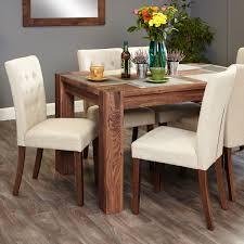 Shiro Walnut 6 Seat Table And 6 Cream Chairs Was £129000 Now