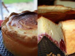 une tarte au fromage blanc pomme caramel