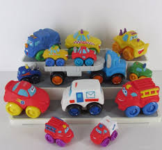 Tonka Playskool Chuck & Friends Mini Wheel Pals 4