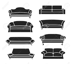 100 Images Of Modern Sofas Sofa Icons Set Classic Vintage Icons