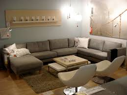 Karlstad Armchair Cover Grey by Living Room Mid Century Living Room Sofas Style Ideas With