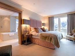Tall Table Lamps For Bedroom by Ensuite Bedroom With Tall Table Lamps And White Furniture