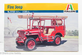 100 Model Fire Truck Kits Jeep Italeri 3722 124 New Kit Products