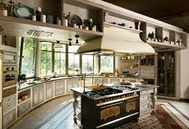 cuisines de luxe cuisine moderne à l ameublement baroque remis au goût du jour