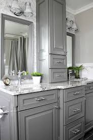 Best Paint Color For Bathroom Cabinets by Best 25 Gray Bathroom Vanities Ideas On Pinterest Grey Bathroom