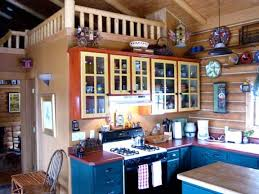 Rustic Style Colorado Log Cabin Eclectic Kitchen