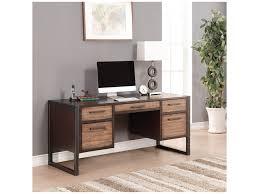 Hamlyn Drop Front Desk by Flexsteel Wynwood Collection Outland Contemporary Writing Desk