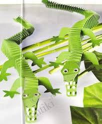 Art For Kids Little Crocodiles From Paper